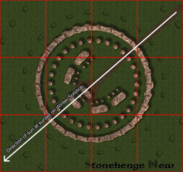 Stonehenge: Original layout
